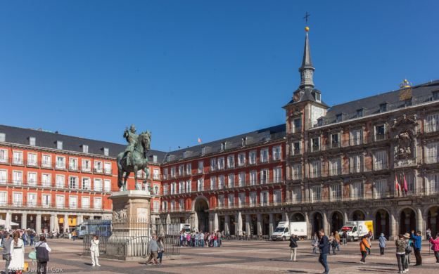 plazas en madrid